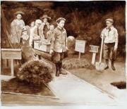 Untitled (Children's Pet Funeral)