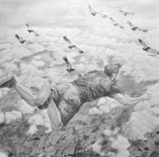 Self Portrait as a Falling Giant
