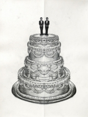 Mirror (Gay Wedding Cake)
