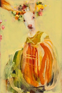 Rabbit Flora - After Rembrandt #2