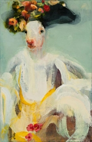 Rabbit Flora - After Rembrandt #1