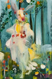 Rabbit Flora - After Botticelli's Primavera