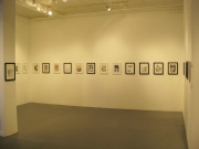Installation shot, west side of gallery