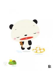 Narcoleptic Panda
