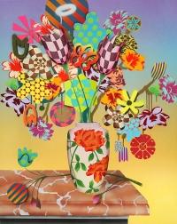 Summer Bouquet at Dusk