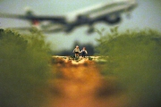Untitled (Children and Airplane)