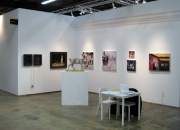 Installation shot of our booth