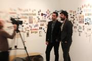Michael Kagan & Jean-Pierre Roy talk to the press
