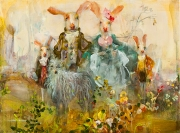 Hare Family (Yellow)